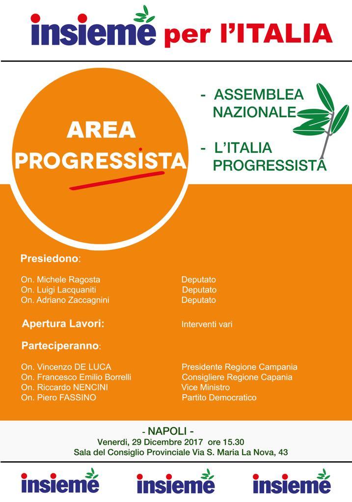 Area Progressista-Assemblea Nazionale-Napoli