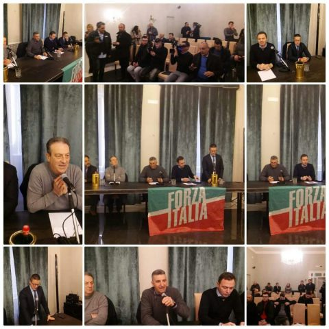 conferenza stampa FI-dissenso candidature
