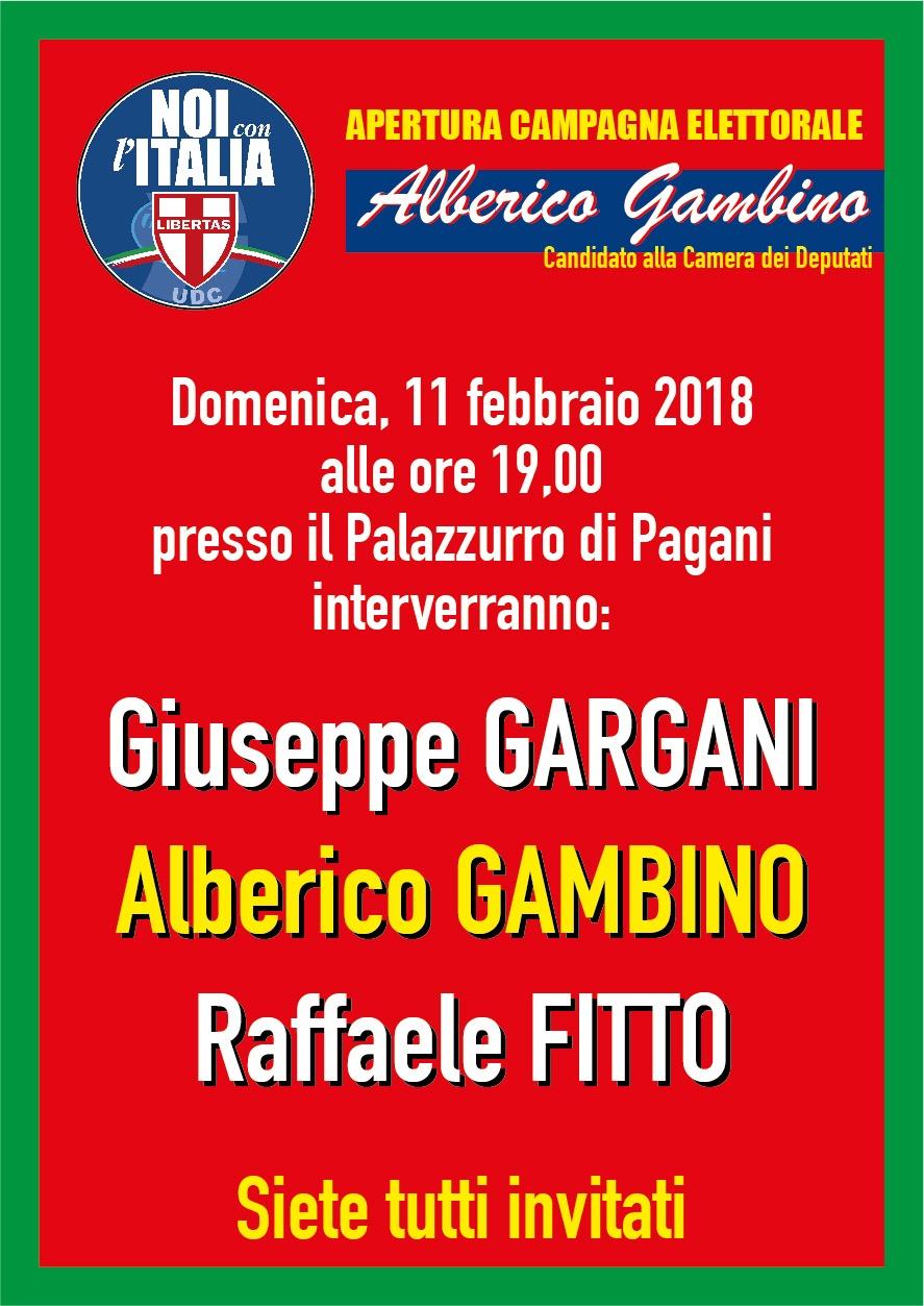 Manifesto Alberico Gambino