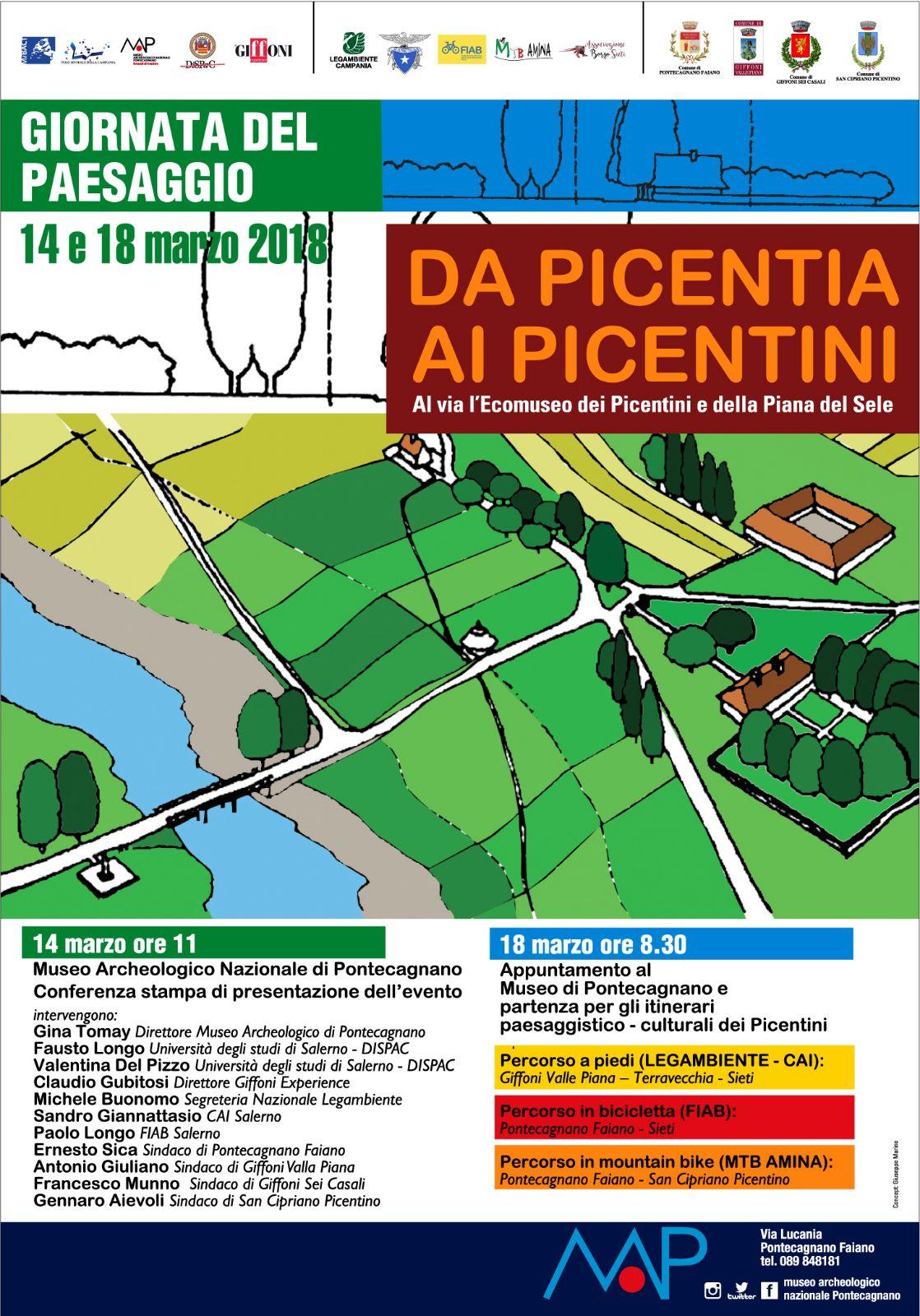 Giornata del Paesaggio-Da Picentia ai Picentini