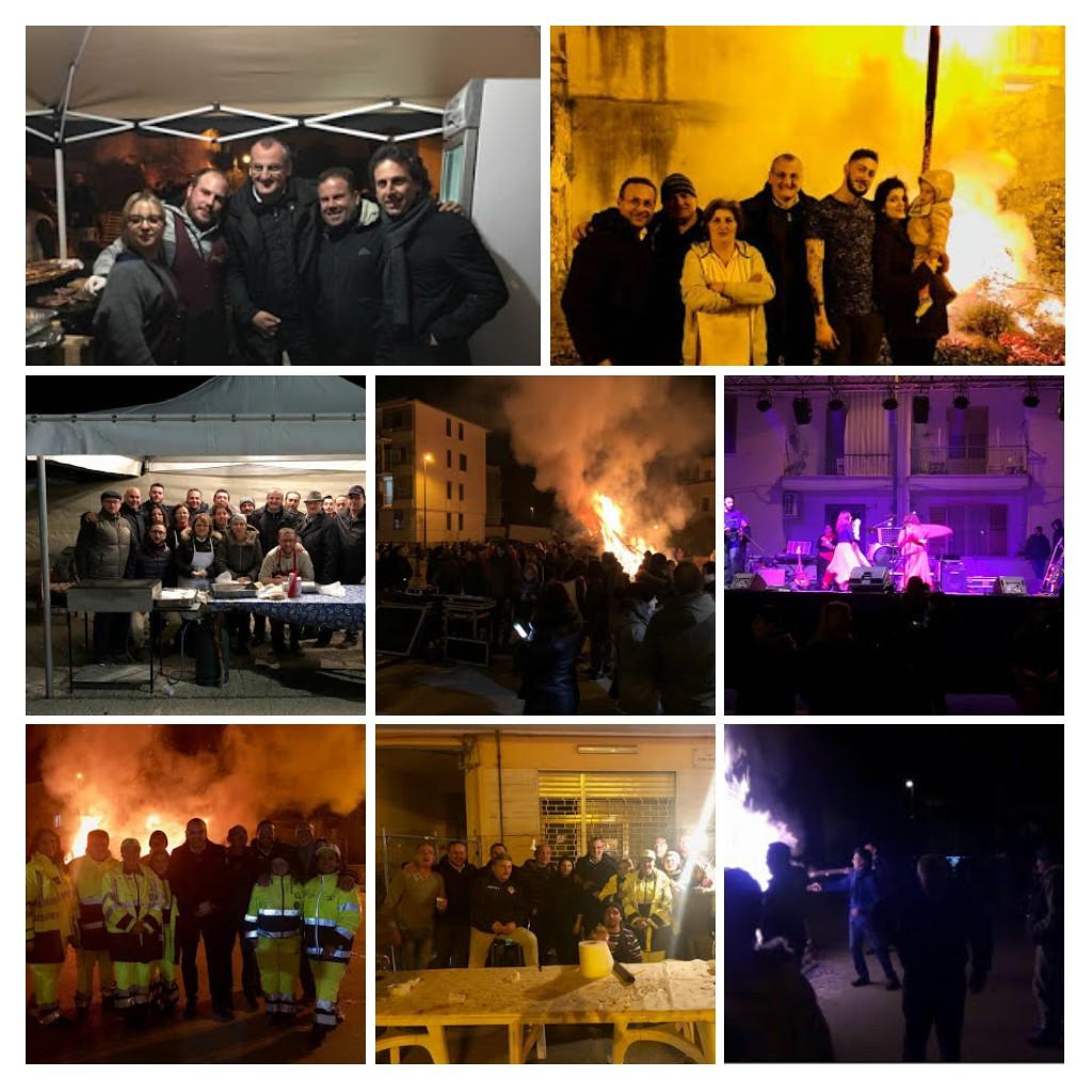 fucanoli di S Giuseppe-Piazza Borgo-Eboli-2018-collage