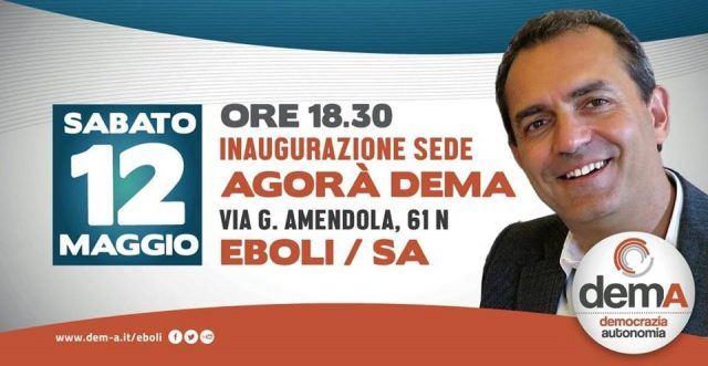 Luigi De Magistris-Eboli-presentazione libro-la città ribelle