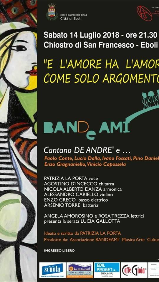 BandeAmì-Tributo a De Andrè-Eboli