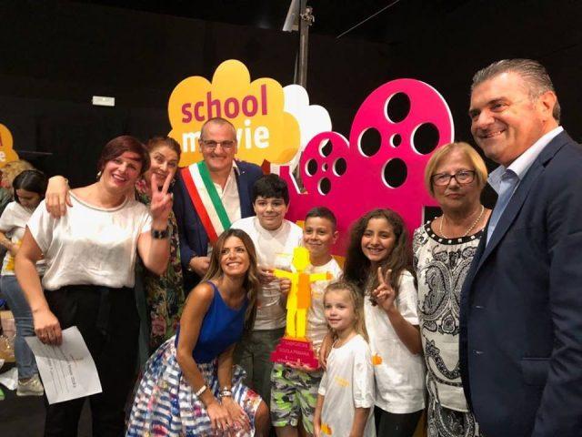 Giffoni-Film-Festival-2018-Premio-scuola-IV-C-Giudice-Eboli-Premio School Movie-Cariello-Alfieri