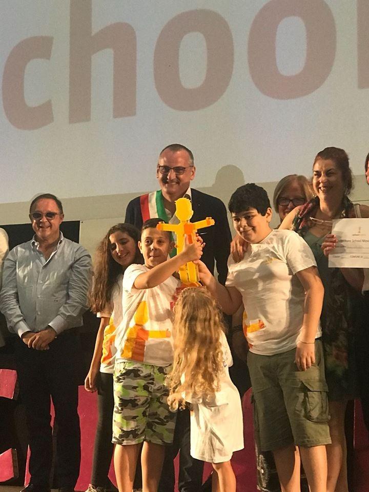 Giffoni-Film-Festival-2018-Premio-scuola-IV-C-Giudice-Eboli-Premio School Movie-2