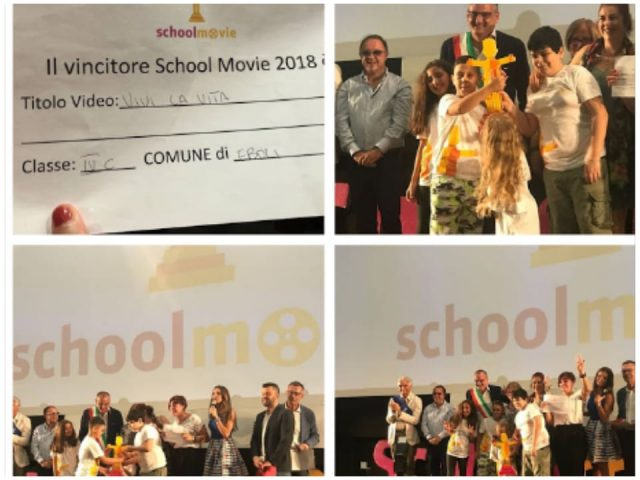 Giffoni-Film-Festival-2018-Premio-scuola-IV-C-Giudice-Eboli-Premio School Movie