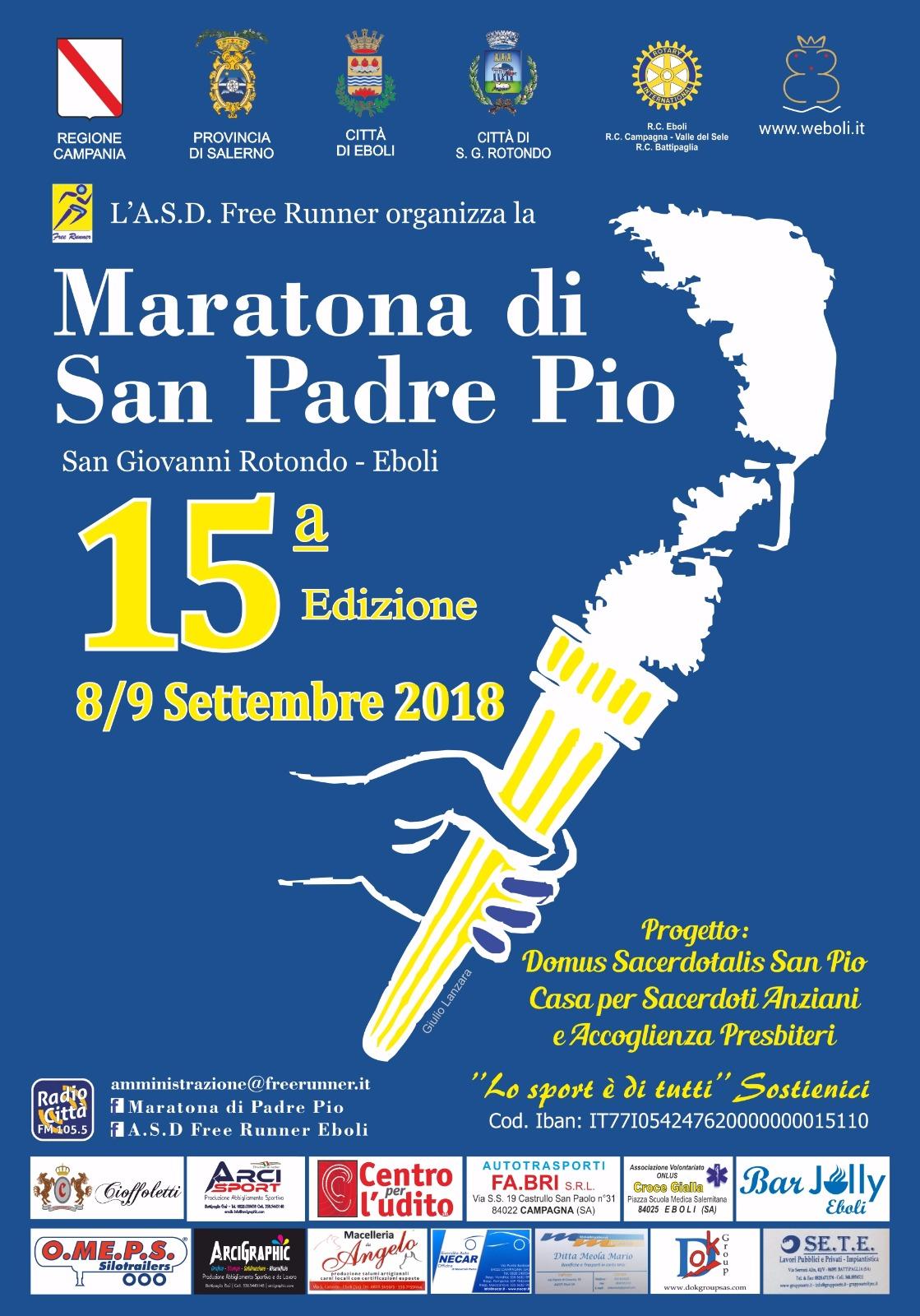 XV edizione-Maratona -San Padre Pio