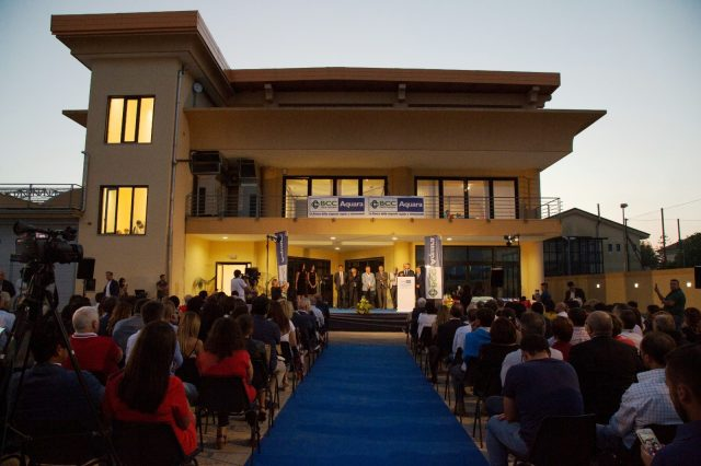 Inaugurazione sede amministrativa BCC Aquara-Capaccio-Paestum