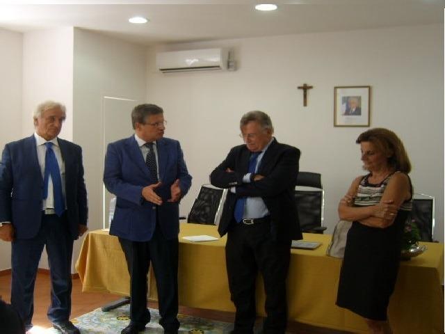 Corrado Lembo-Visita-Arpac Salerno