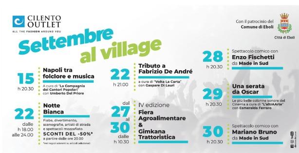 settembre al Village