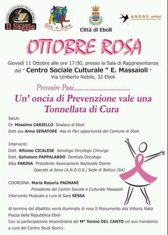 ottobre in rosa-prevenzione tumori al seno