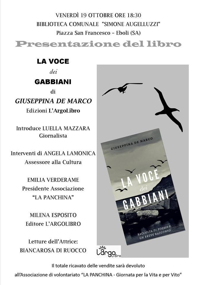 la voce dei Gabbiani-Libro-De Marco