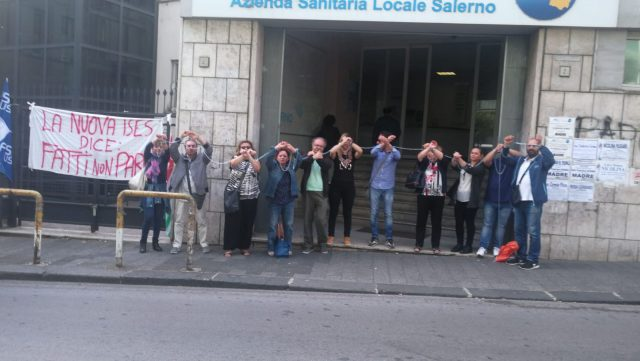Protesta-Nuova ISES-ASL Salerno