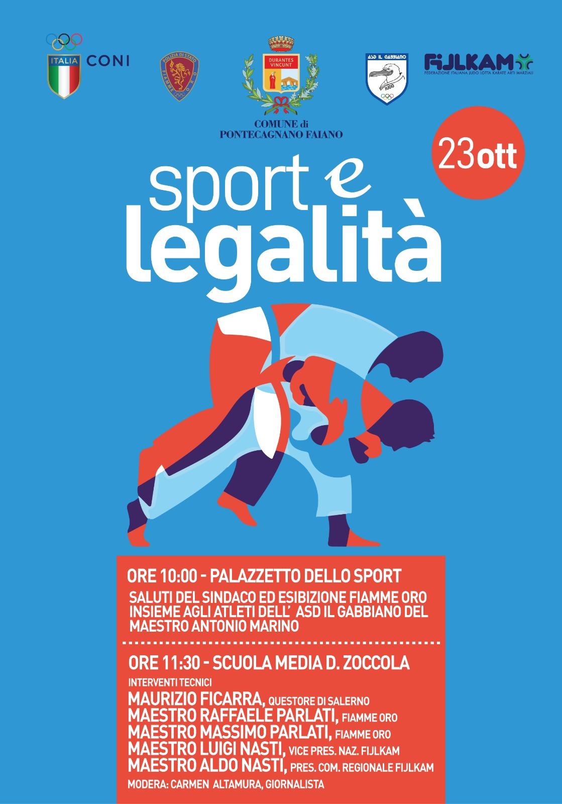 Sport e Legalità-Pontecagnano