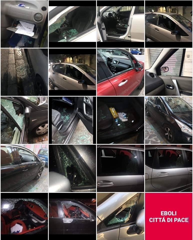 auto danneggiate