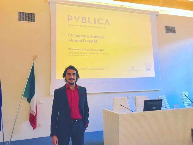 Giuseppe Piegari-Assemblea ANCI Ravenna