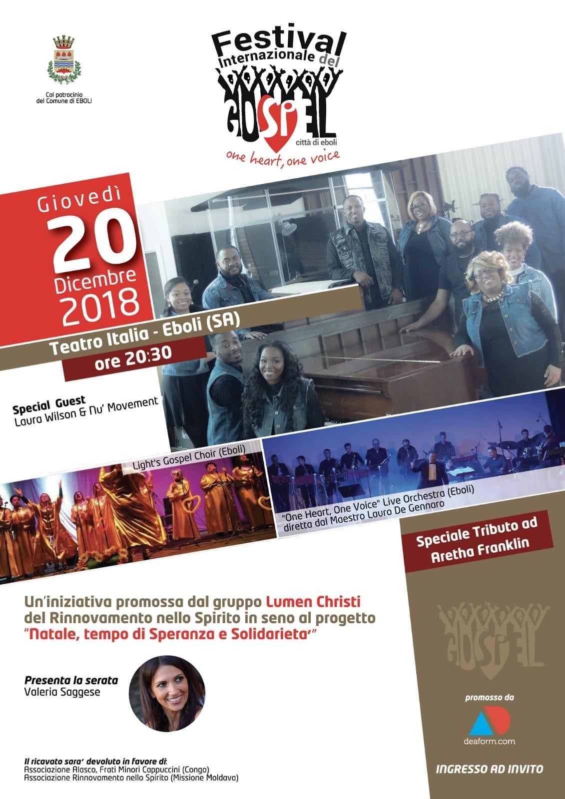 Festival internazionale del Gospel Eboli