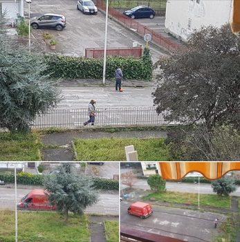 Rione Pescara pulizia