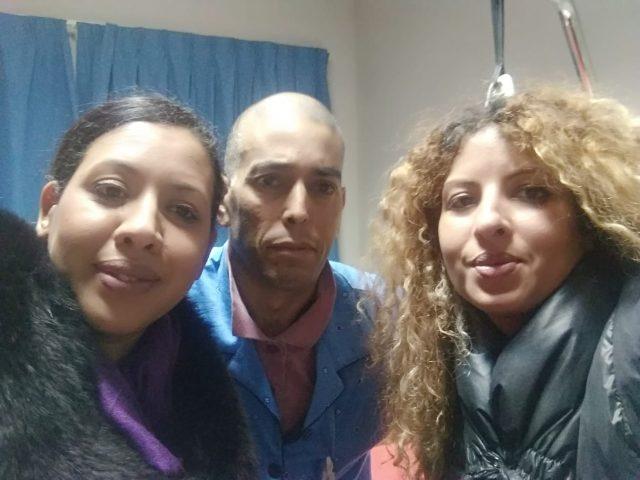 Fatiha e Hakima Chakir con Jiadill
