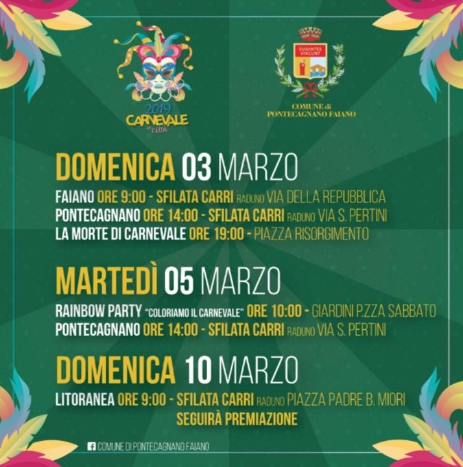 Carnevale 2019 Pontecagnano