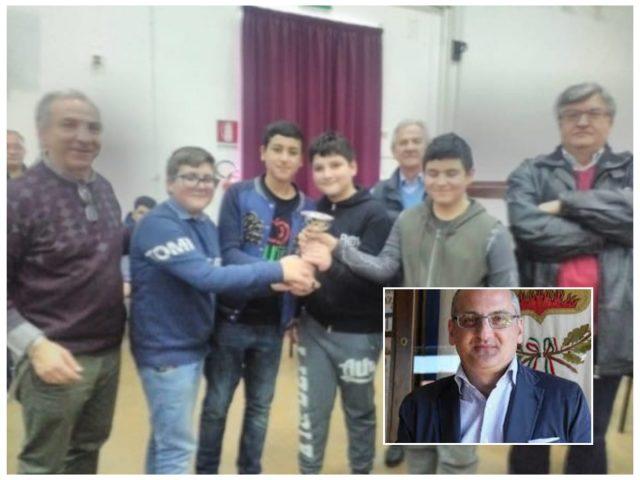 Scuola Matteo Ripa-Campioni di Scacchi-Cariello
