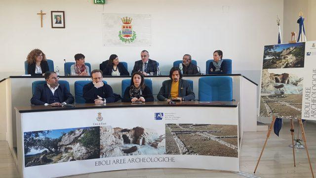 Progetto aree Archeologiche Eboli-Casule-Cariello-Santoro-Lamonica