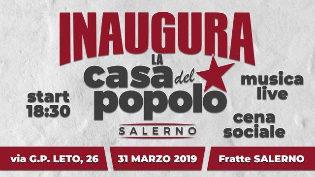 Casa del Popolo Salerno-inaugurazione