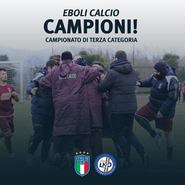 Eboli Calcio Campioni 3 categoria