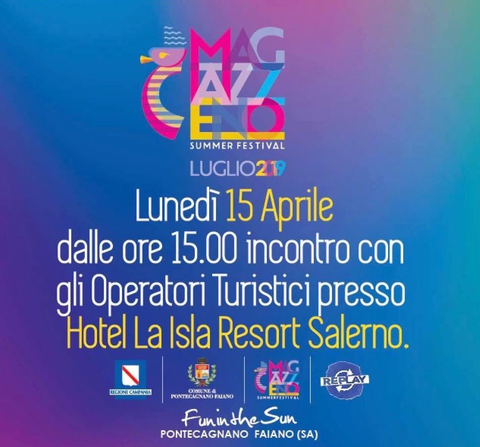 Magazzeno Summer Festival-Pontecagnano