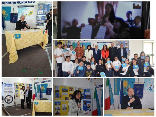 Gemellaggio scuole Fiorentino Battipaglia Ginnasio Altamy