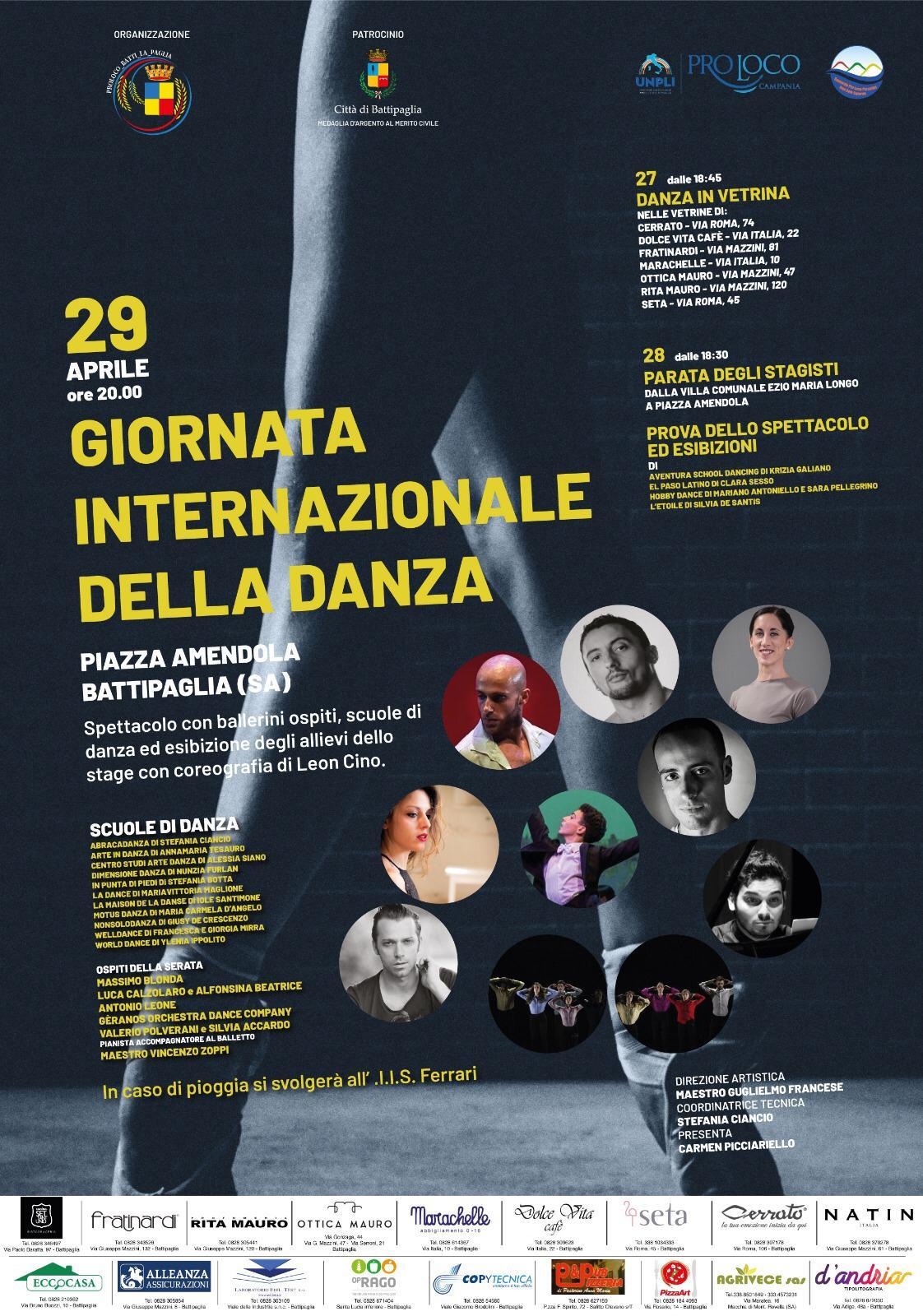 Battipaglia - Giornata internazionale della danza