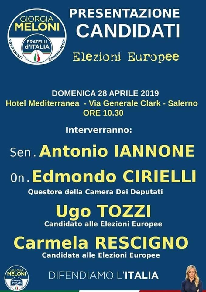 Fratelli d'italia-liste-candidati-europee-2019