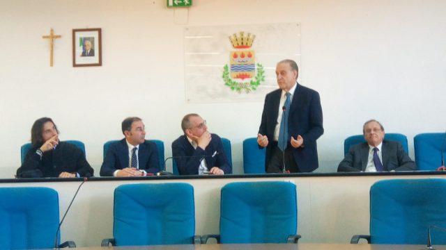 Lorenzo Cesa con Piegari-Masala-Cariello-Marotta
