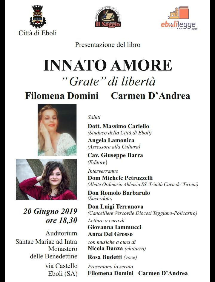 "Innato Amore ""Grate di libertà"""
