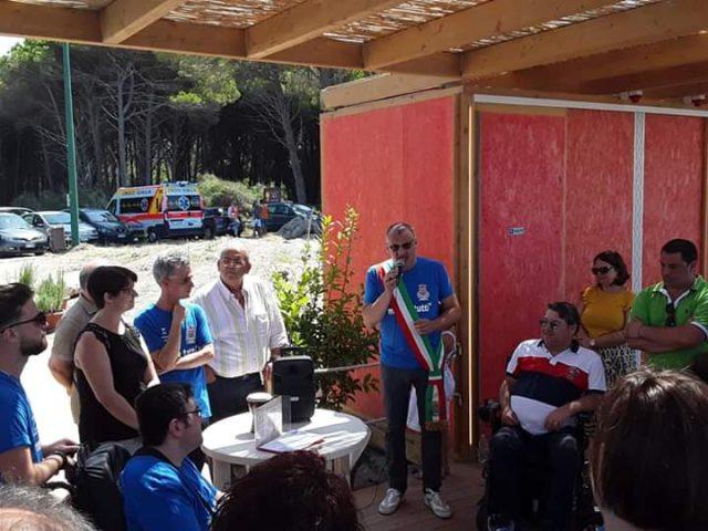 Eboli-Spiaggia attrezzata per persone disabili-Sindaco Cariello