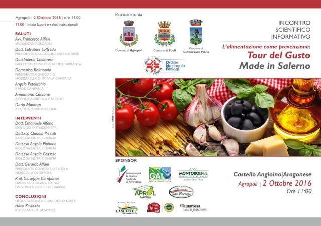 Agropoli-tour del gusto