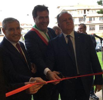 Marino-Sica-Scorziello-inaugurazione sportello Bcc Aquara pontecagnano
