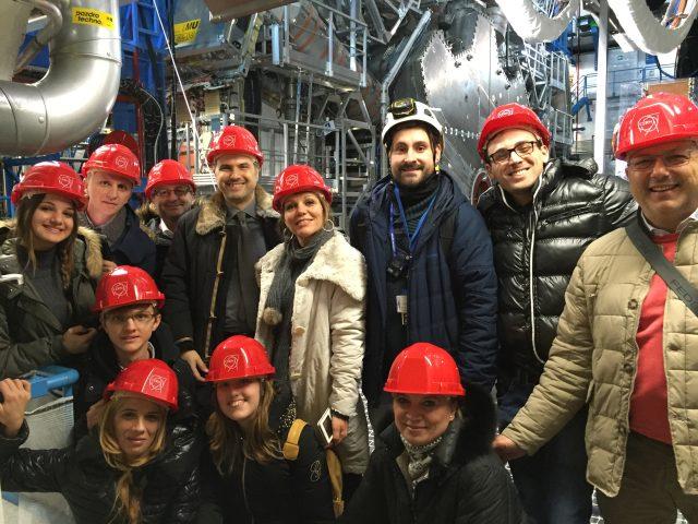 Delegazione Scuola Fiorentino al CERN di Ginevra