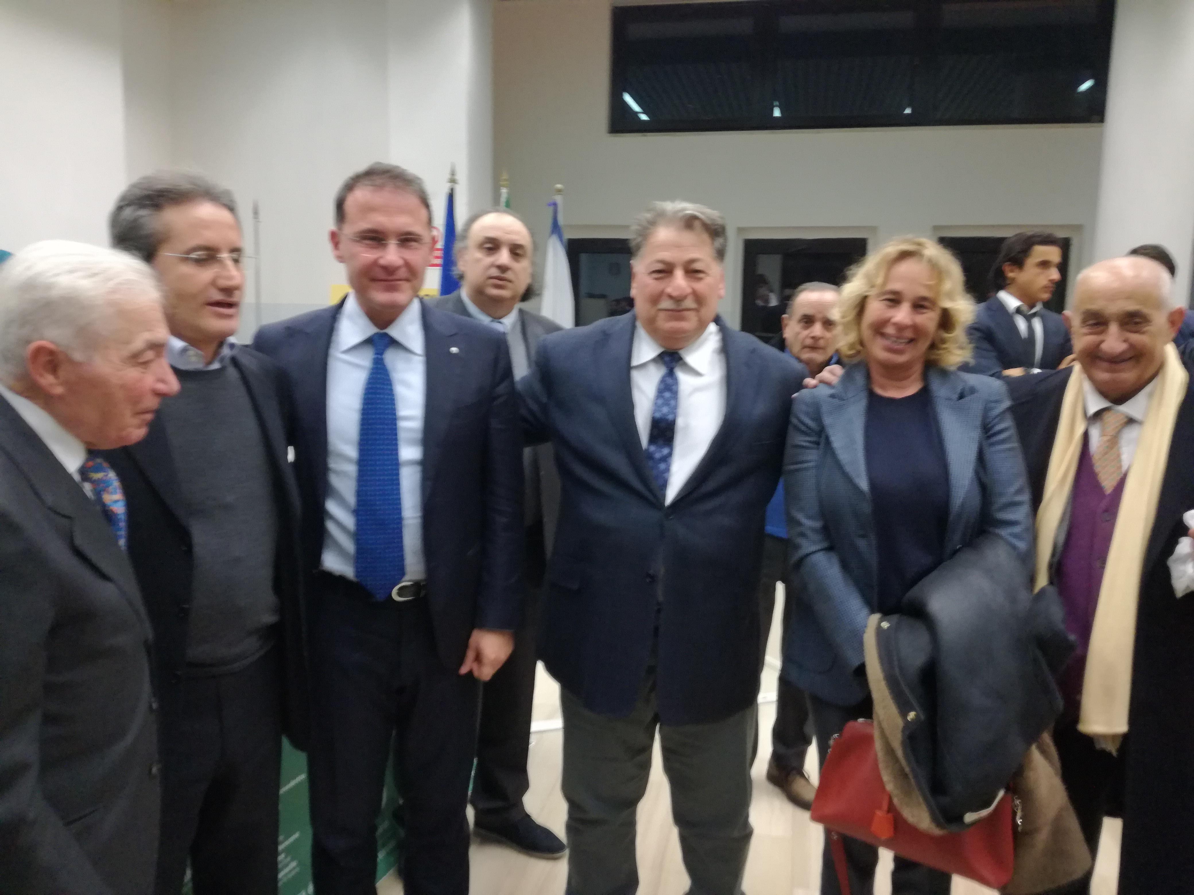 Fasolino-Caldoro-Cirielli-Di Benedetto-Iuorio-Stefania Craxi-Rizzo