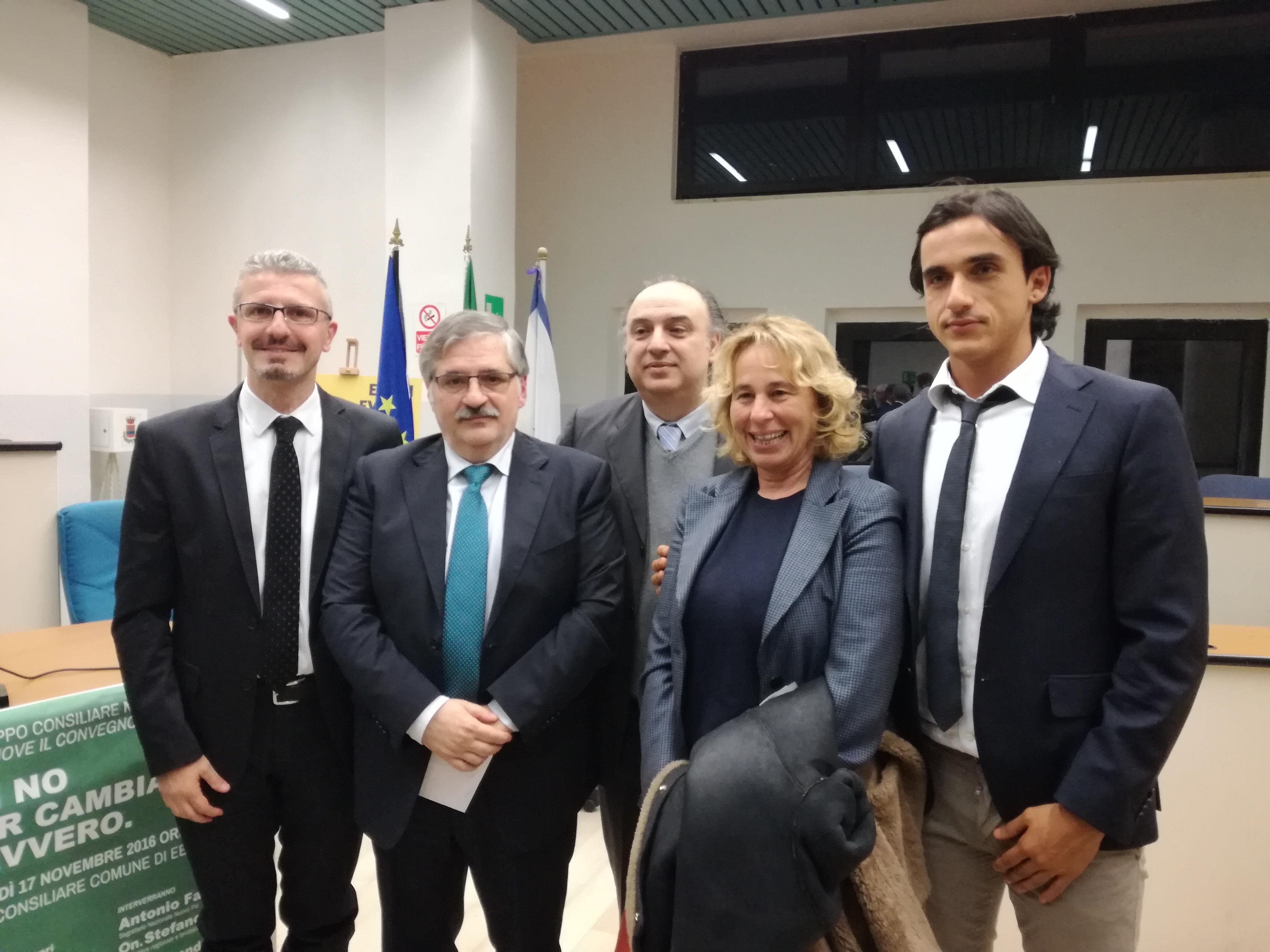 Guarracino-Marchesano-Di Benedetto-Stefania Craxi-Piegari