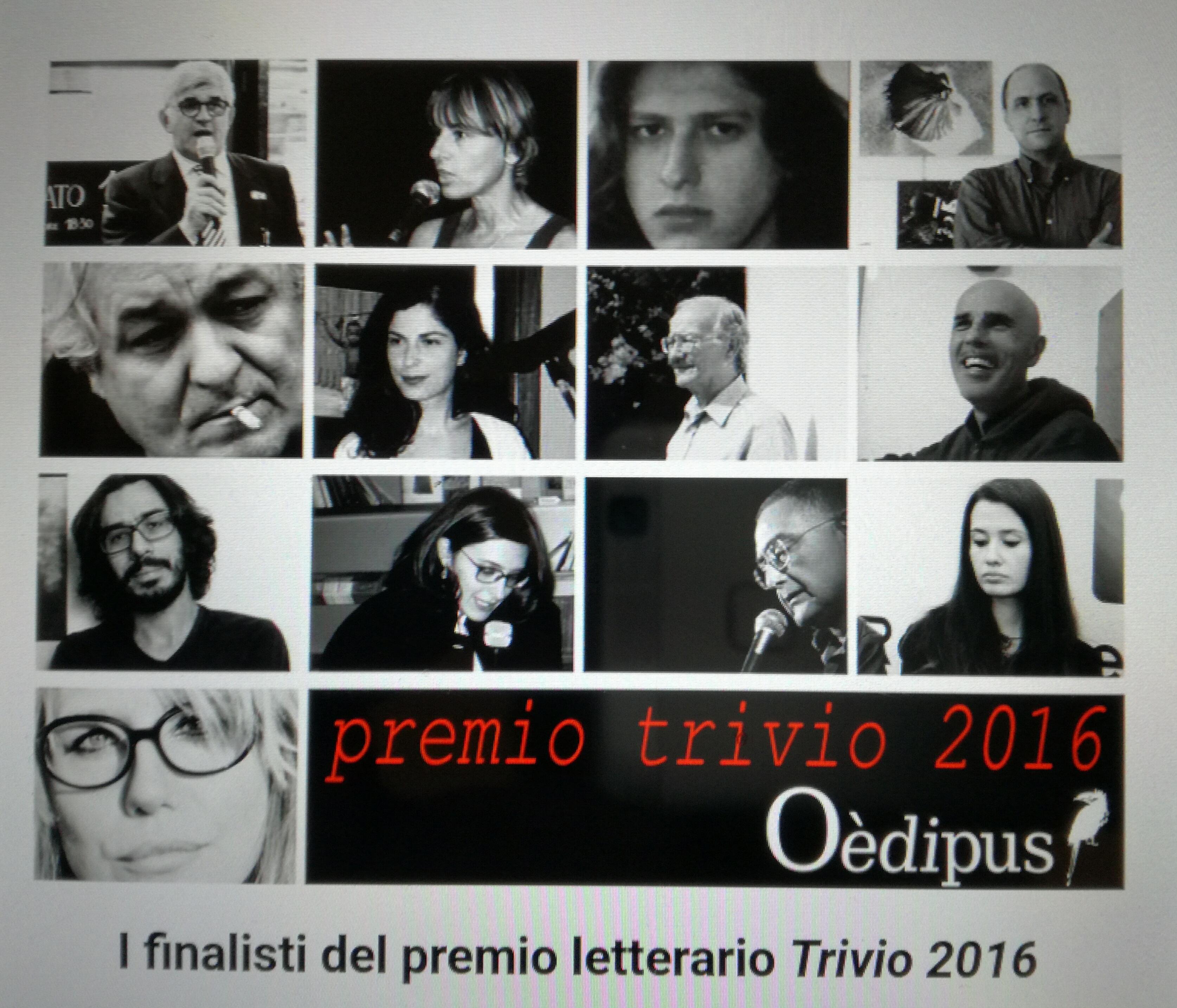 Premio letterario Trivio 2016-Finalisti