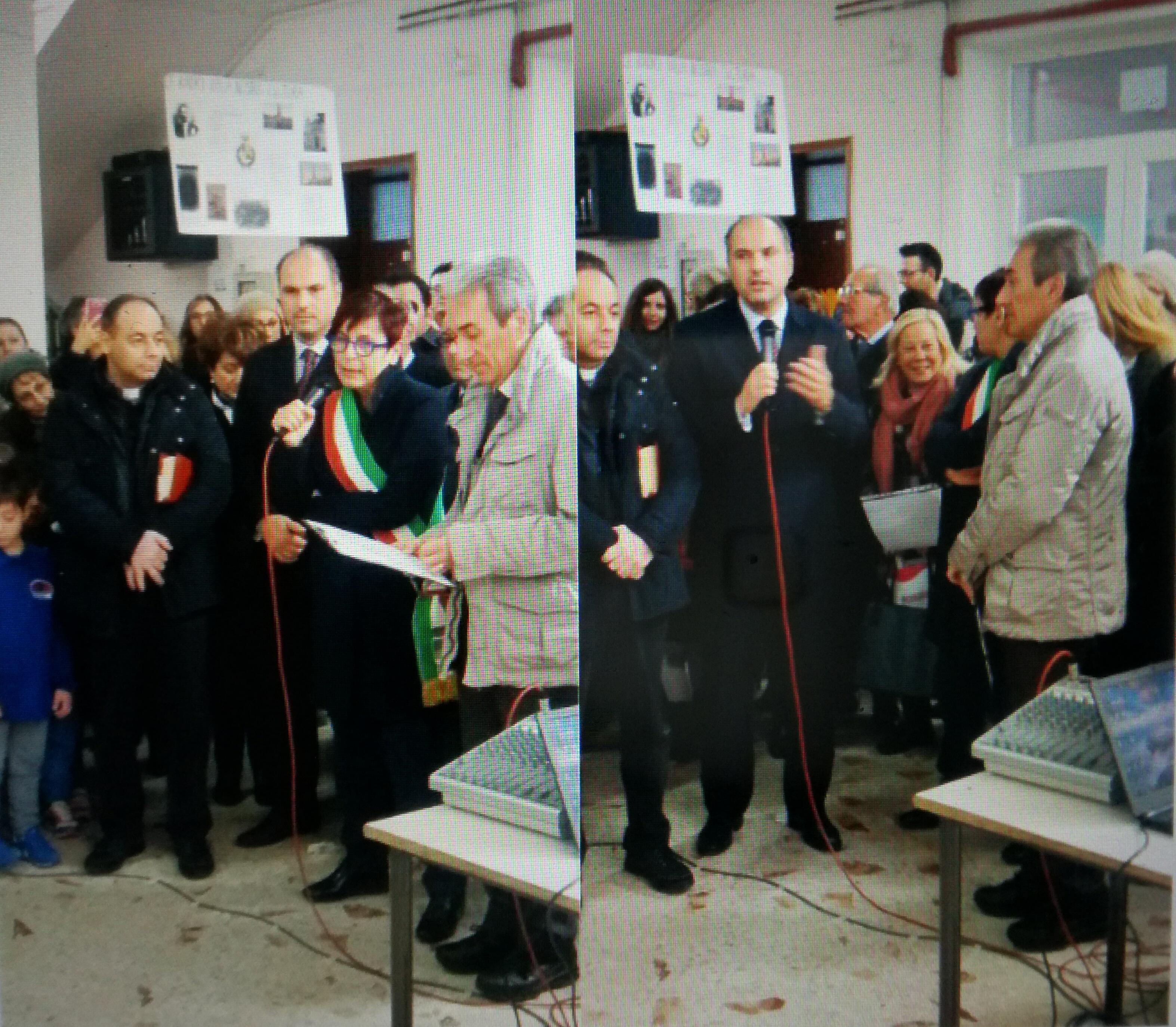 Intitolazione maestri De Sio e Tatò