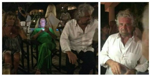Beppe Grillo-capodanno a Malindi