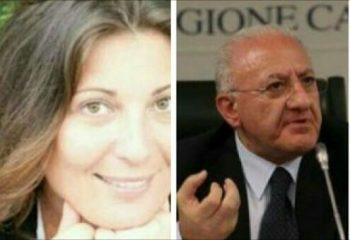 Valeria Ciarambino-Vincenzo De Luca