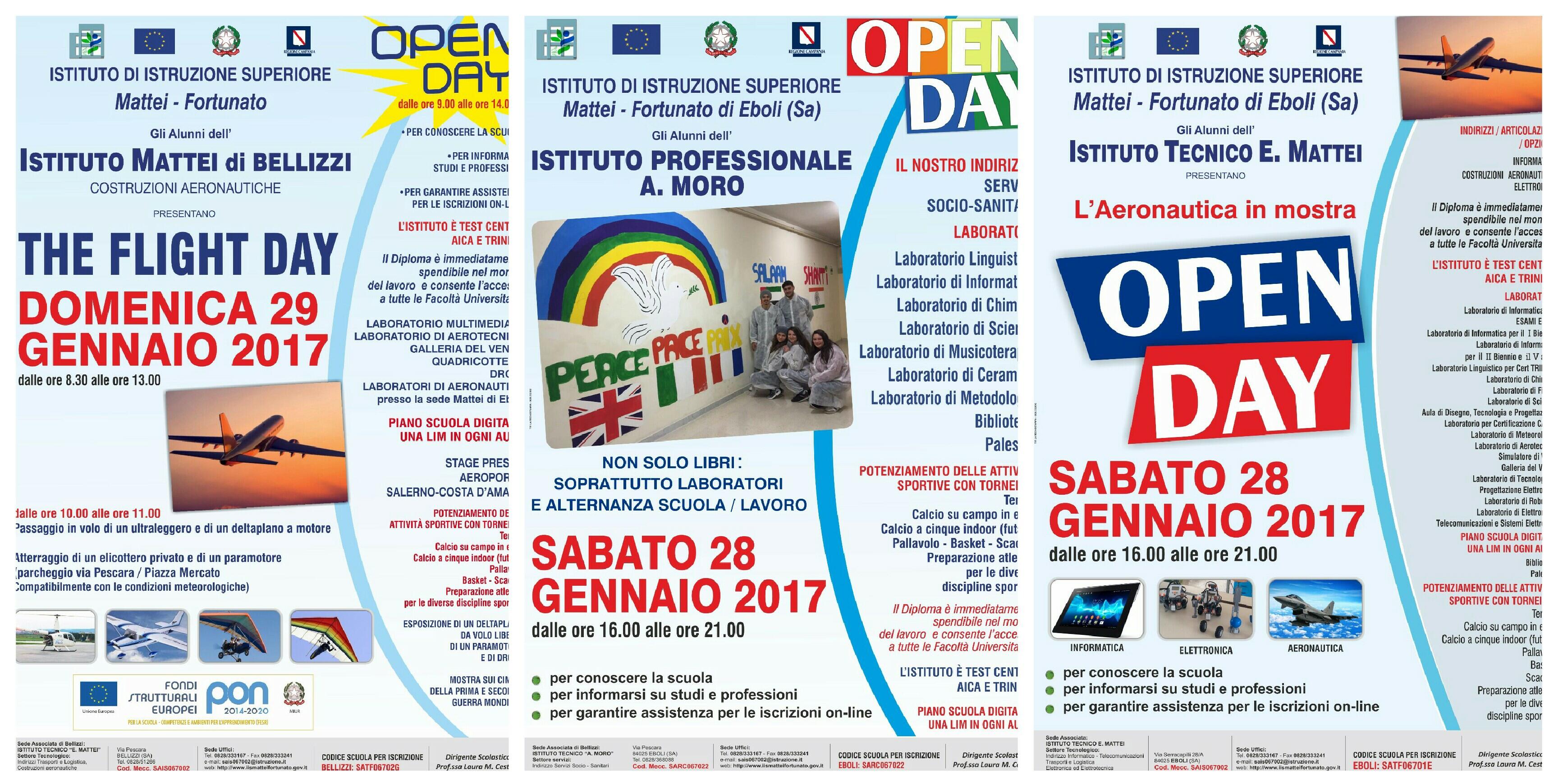 Open Day-mattei-Moro-Eboli-Bellizzi