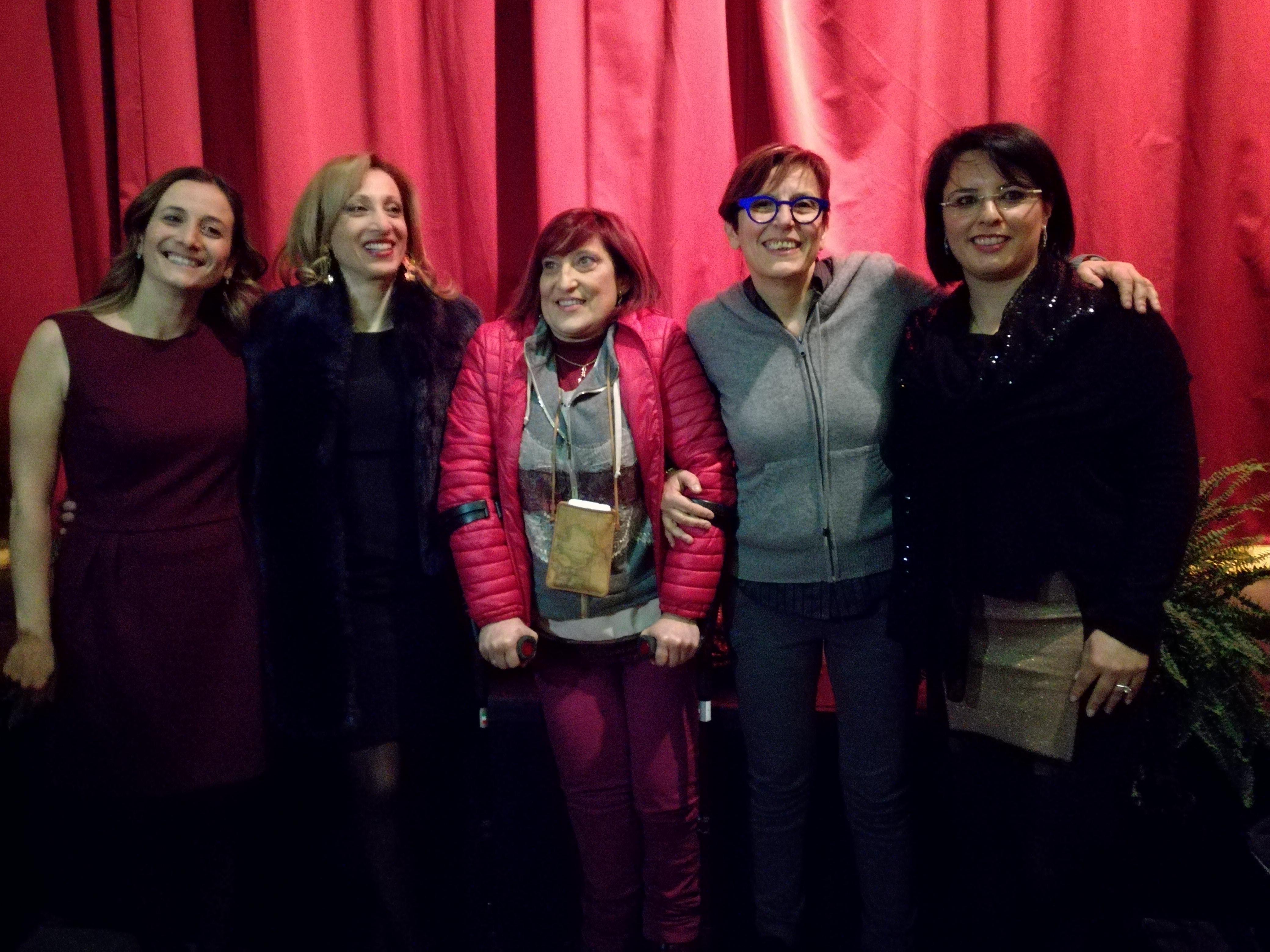 Battipaglia-festa della donna-premiazione-Daniela Palma-Anna Bruno-Cecilia Francese-Elisa Vitolo