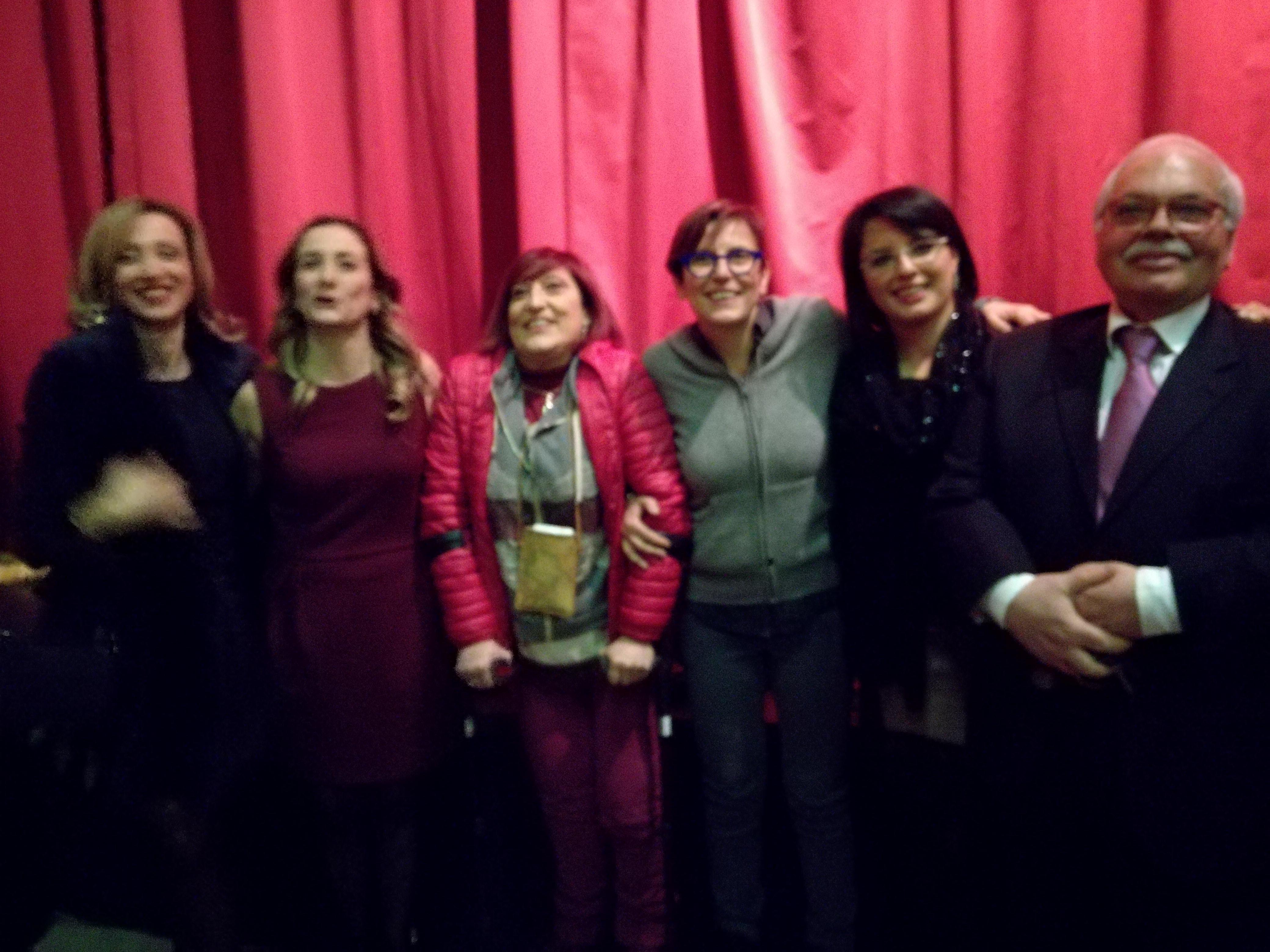 Battipaglia-festa della donna-premiazione-Cecilia Francese-Elisa Vitolo-Michele Cupertino