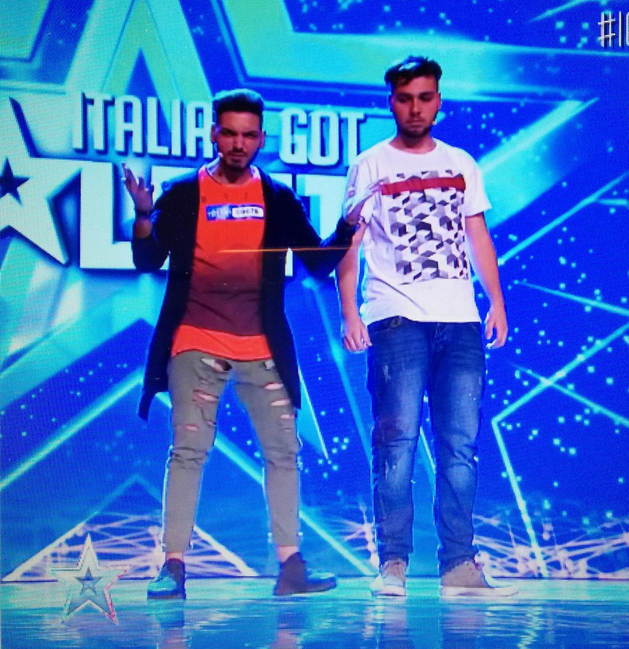 Lucio Provenza-Francesco Ronca-Italians Got Talent