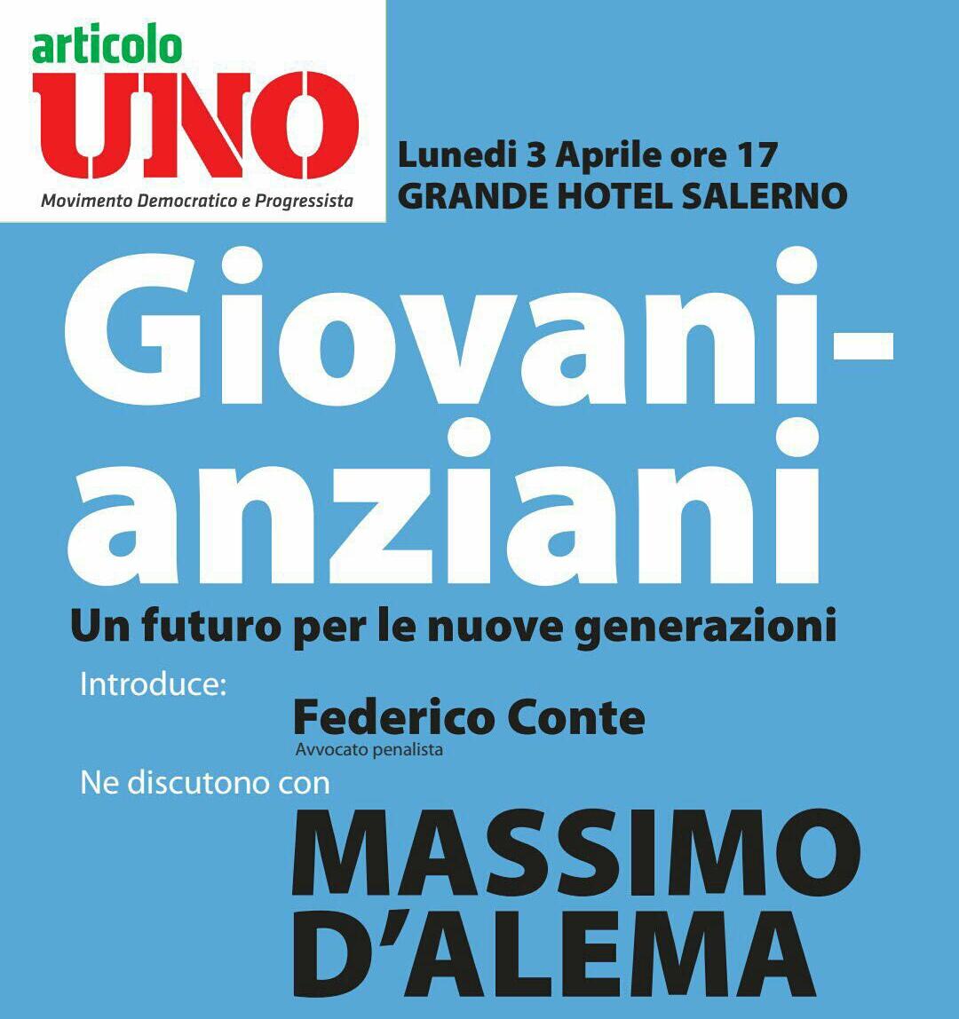 Salerno-convegno-MDP-Federico Conte-Massimo D'Alema