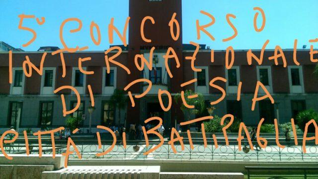 5 Concorso di Poesia Città di Battipaglia